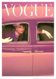 VOGUE 1957 by Parkinson Norman
