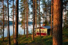 Great Lakes Around the World - WSJ *Finland/Lake Saimaa Great Lakes, Cottages, Habitats, Most Beautiful, National Parks, Traveling, Around The Worlds, Earth, Country