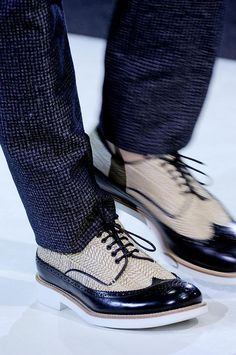 Giorgio Armani men shoes S/S '14