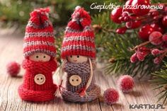 Cute little Christmas people - Polish website