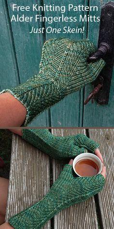 Easy Knitting Patterns, Loom Knitting, Baby Knitting, Fingerless Gloves Knitted, Knit Mittens, Mittens Pattern, Knitting For Beginners, Chevron Fabric, Etsy
