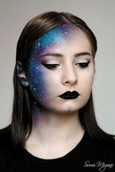 Galaxie Kostüm selber machen | Kostüm Idee zu Karneval, Halloween & Fasching