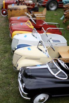 Pedal Car Line-Up.