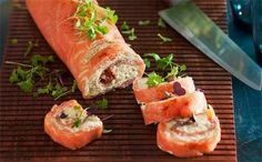 Smoked salmon and avocado roulade  - Better Homes and Gardens - Yahoo! New Zealand
