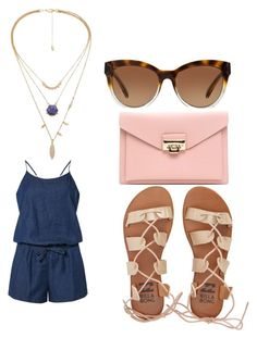 """""""Untitled #1143"""" by jaimie-lynn-1 ❤ liked on Polyvore featuring Dorothy Perkins, Michael Kors and Billabong"""
