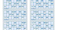 Free Printable Bingo Cards, Bingo Template, Free Printables, Bingo Tickets, Lotto Draw, Tambola Game, Art For Kids, Smileys, Crafts