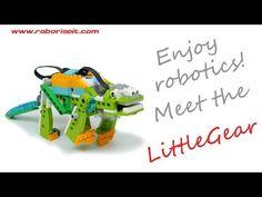 Meet the LittleGear! WeDo 2.0 robot - YouTube