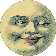 Image result for the face in the moon