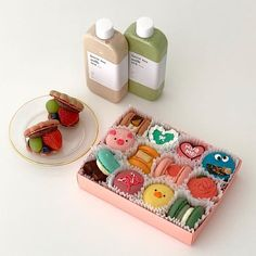 Cute Snacks, Cute Desserts, Dessert Recipes, Snack Recipes, Pretty Cakes, Cute Cakes, Cute Baking, Kawaii Dessert, Good Food