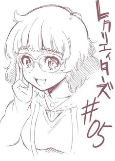 Marine, by Re:Creators manga artist Daika Kase Manga Drawing Tutorials, Anime Drawing Styles, Anime Drawings Sketches, Anime Sketch, Kawaii Drawings, Art Drawings, Anime Lineart, Scratchboard Art, Manga Artist