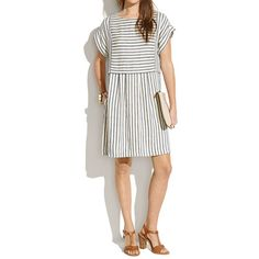Blanca Dress in Stripe - dresses & skirts - Women's NEW ARRIVALS - Madewell