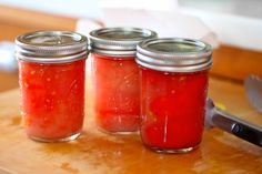 Tomato Canning Tutorial