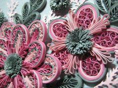 Quilled flower idea