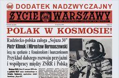 Hermaszewski in Space - Newspaper Życie Warszawy (PL).