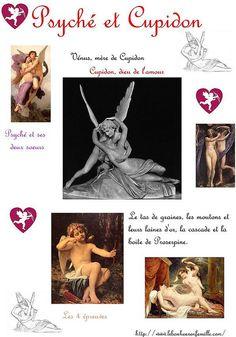 Un nouveau mythe grec…Psyché et Cupidon…
