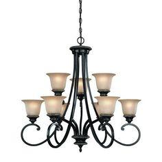Dolan Designs Hastings Phoenix Nine Light Chandelier On SALE