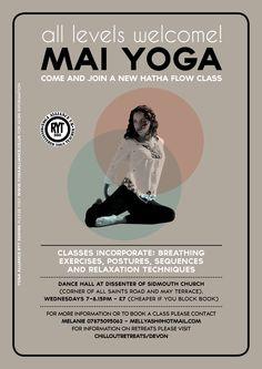 Mai Yoga Class Poster 2013