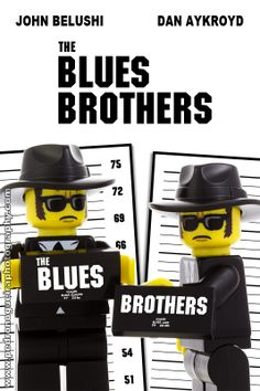 """The Blues Brothers"" My LEGO. Pedro Nogueira Photography."