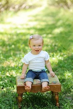 The Hess Household: Abby's 1 year old photo shoot