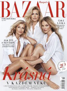 Tereza Maxova, Daniela Pestova, & Pavlina Nemcova for Harper's Bazaar Czech October 2016
