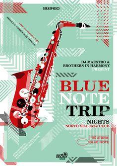 mestudio 2013 bluenote poster by me studio
