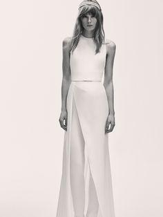 Elie Saab Bridal Spring 2017 | #BridalFashionWeek #WeddingDress [Photo: Courtesy]