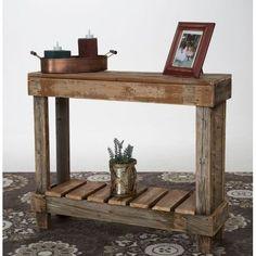Del Hutson Designs Console Table