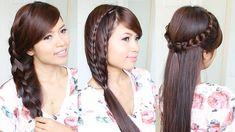 acconciature per capelli lunghi: ecco tre idee con le trecce