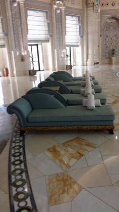 The Ritz Carlton, Riyadh - Pool time Jeddah, Riyadh, Saudi Arabia, Interior Architecture, Lounge, Couch, Places, Travel, Furniture