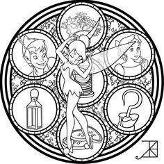 Kleurplaat SG: Tinkerbell: V1 Remastered -line art- by Akili-Amethyst.deviantart.com on @DeviantArt