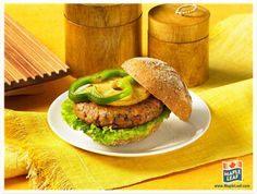 Learn more about our high‑quality, great‑tasting breads that are enjoyed in kitchens across Canada Turkey Patties, Delicious Dinner Recipes, Summer Bbq, Easy Food To Make, Long Weekend, Salmon Burgers, Pineapple, Meals, Chicken