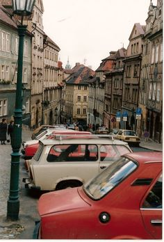 Prague, Czech Republic - Lily, I think our hostel was on the top of this road?
