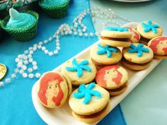 little mermaid/under the sea Birthday Party Ideas | Photo 12 of 12 | Catch My Party