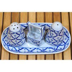 Keramik Pfeffer und Salz Set No.1 9x19x9,5cm