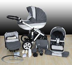 LUXUS Kombi Kinderwagen ALU Cleo 3in1 Babyschale Autositz Babywanne Sportsitz in Baby, Kinderwagen & Zubehör, Kinderwagen | eBay