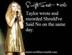 taylor swift facts. Wow i love how lyricly talented she is, amazing - KMI