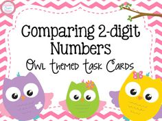 Adding and Subtracting Numbers Task Cards- Owl Theme First Grade Activities, Work Activities, Math Lesson Plans, Math Lessons, Math Stations, Math Centers, Math Resources, School Resources, Elementary Teacher