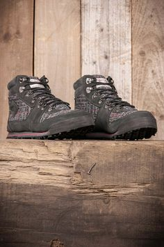 The North Face x Harris Tweed Back to Berkeley Boots Black