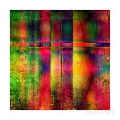 Art Abstract Colorful Background Affiches par Irina QQQ sur AllPosters.fr