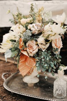 Wedding Color Trends: 30 Sunset Dusty Orange Wedding Color Ideas – Page 2 – Hi Miss Puff wedding colors Wedding Color Trends: 30 Sunset Dusty Orange Wedding Color Ideas Burnt Orange Bridesmaid Dresses, Burnt Orange Weddings, Orange Wedding Colors, Sage Green Wedding, Lilac Wedding, Fall Wedding Flowers, Fall Wedding Colors, Floral Wedding, Wedding Flowers Sunset