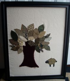 Tree and Sheep — Erin Brie Art