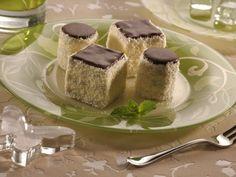 Kakaové miniřezy s vanilkovým krémem - Recepty na každý den
