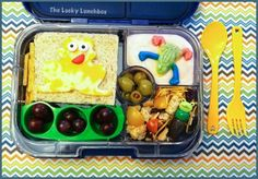 The Lucky Lunchbox/ Frog lunch in the new Yumbox Panino @yumbox