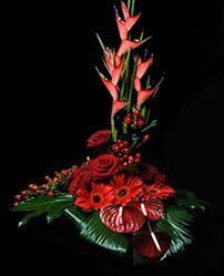 Resultado de imagem para bloemstuk voor op balie
