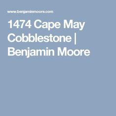 1474 Cape May Cobblestone   Benjamin Moore