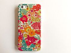 Liberty fabric iphone case - Margaret Annie
