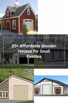 Wooden Houses, Garage Plans, Families, How To Plan, Mansions, House Styles, Outdoor Decor, Home Decor, Timber Homes