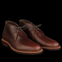 UNIONMADE - Alden - Evans Chukka Boot in Brown Chromexcel 14904
