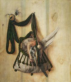 Óleo de Cornelius Norbertus Gijsbrechts. Galería Nacional de Dinamarca