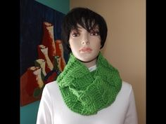 Crochet a cable circle scarf or cowl - with Ruby Stedman - YouTube